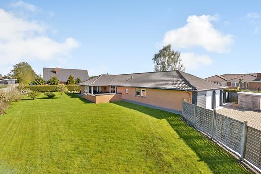 Villa på Nyvej i Spentrup - Have