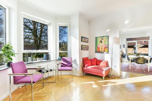Villa på Høvejen i Randers SV - Stue