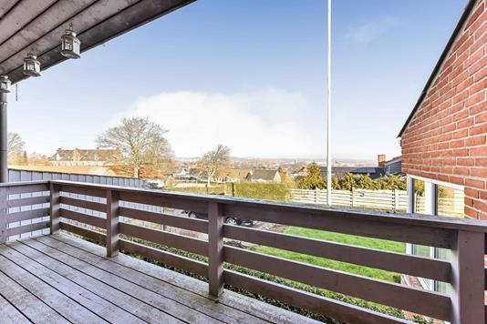 Villa på Byvænget i Randers SØ - Terrasse