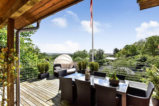 Villa på Pilevænget i Randers NV - Terrasse
