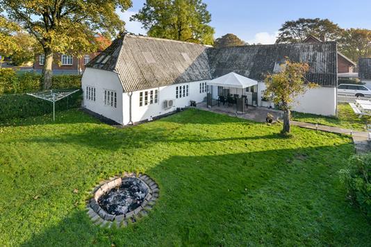 Villa på Lillegade i Gjerlev J - Ejendommen