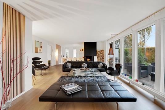Villa på Risvangen i Randers NV - Stue