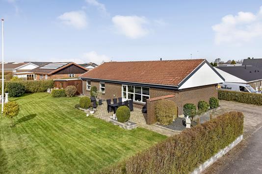 Villa på Søren Quistsvej i Spentrup - Ejendommen