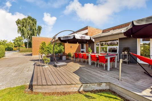 Villa på Kantatevej i Randers SV - Terrasse