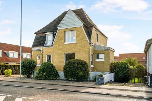 Villa på Nørre Boulevard i Randers C - Ejendommen