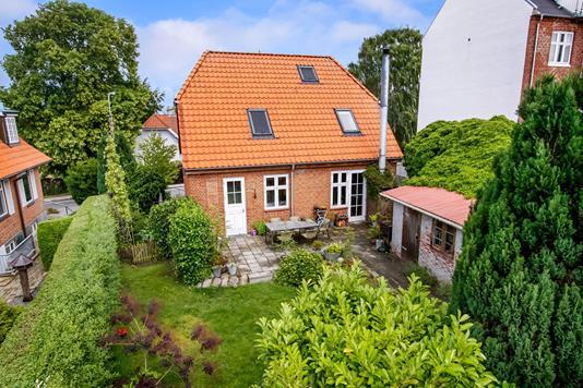 Villa på Kristrupvej i Randers SØ - Set fra haven