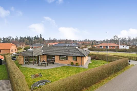 Villa på Odinsvej i Oksbøl - Ejendommen