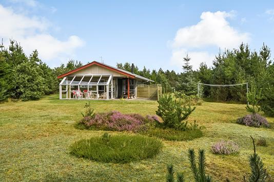 Fritidsbolig på Hestehaven i Blåvand - Have