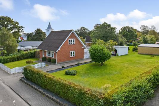 Villa på Præstegaardsvej i Oksbøl - Ejendommen