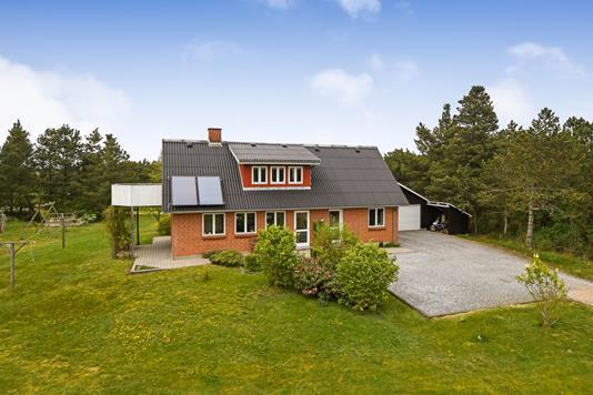 Villa på Møllehusvej i Blåvand - Ejendommen