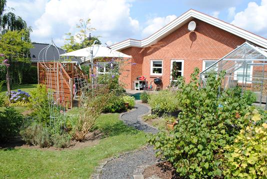 Villa på Kirkedalen i Skanderborg - Ejendommen