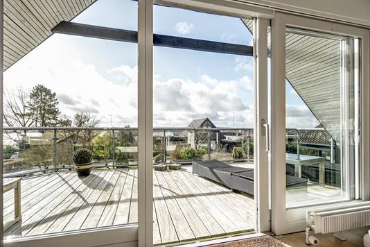 Villa på Højdedraget i Skanderborg - Udsigt