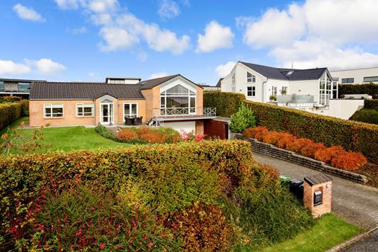 Villa på Kristiansbakken i Skanderborg - Ejendommen