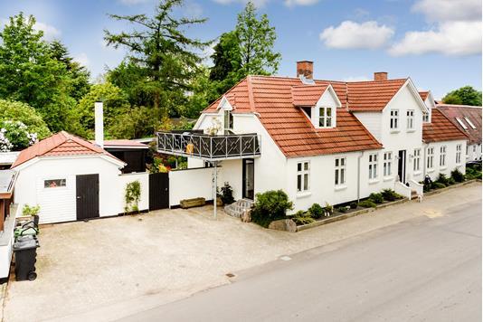 Villa på Allegade i Hørning - Ejendommen