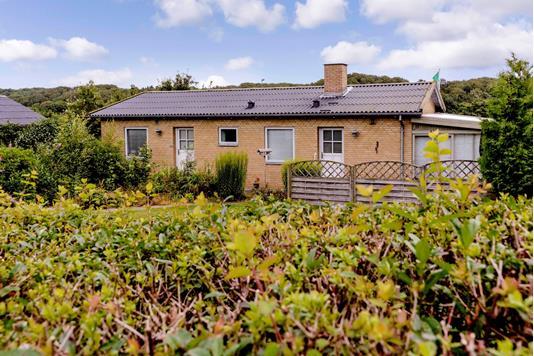 Villa på Bjerggårdsvej i Skanderborg - Have