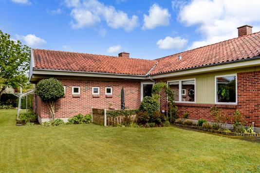 Villa på Vesterløkken i Skanderborg - Terrasse