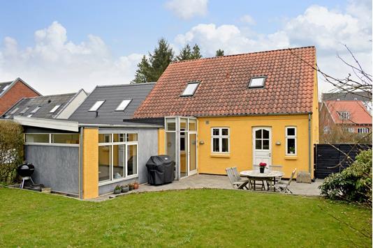 Villa på Engvej i Skanderborg - Have