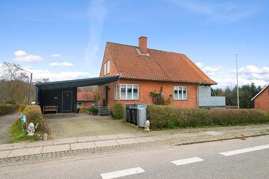 Villa på Horsensvej i Skanderborg - Ejendommen