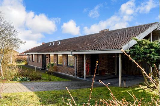 Villa på Skrænten i Skanderborg - Ejendommen