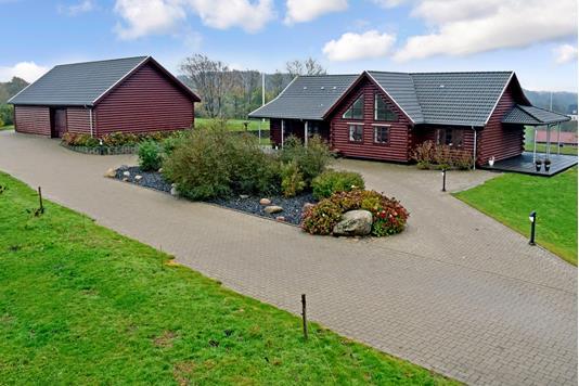 Landejendom på Tebstrupvej i Skanderborg - Ejendommen