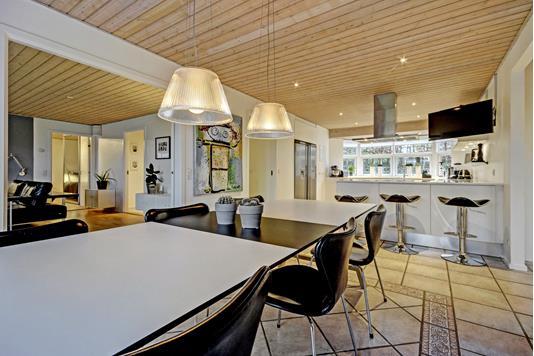 Villa på Rådyrvej i Skanderborg - Køkken alrum