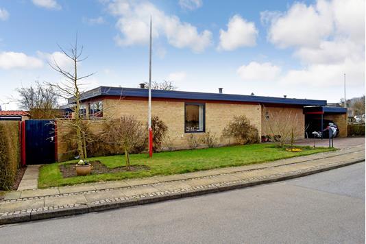 Villa på Damvænget i Skanderborg - Ejendommen