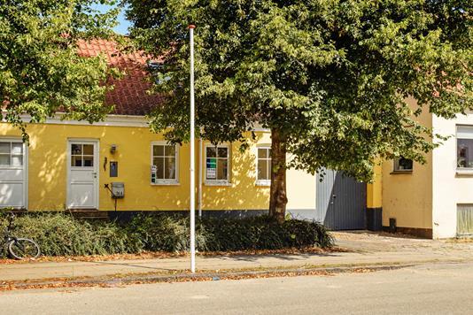 Rækkehus på Adelgade i Skanderborg - Ejendommen