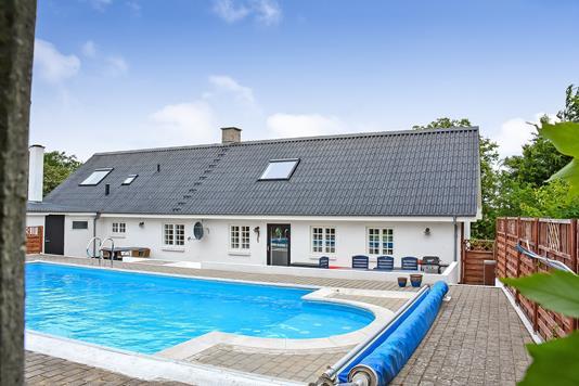 Villa på Allerupvej i Tjæreborg - Ejendommen