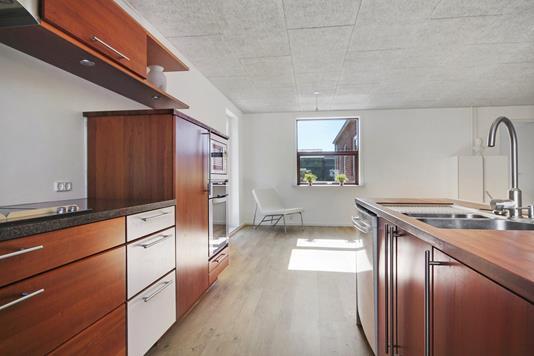 Villa på Skolebakken i Esbjerg Ø - Køkken