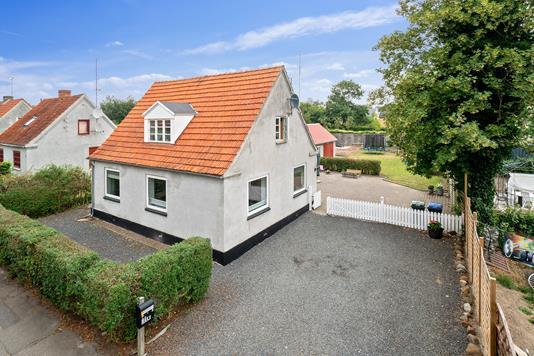 Villa på Skolegade i Hørve - Ejendommen
