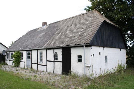 Villa på Rudbjergvej i Dannemare - Facade