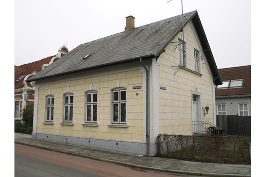 Villa på Svingelsvej i Nakskov - Facade bolig