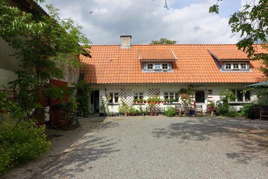 Villa på Tårsvej i Harpelunde - Facade bolig
