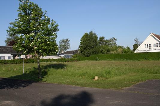 Helårsgrund på Hejrevej i Nakskov - Forhave