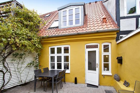 Villa på Mejlgade i Aarhus C - Gårdhave