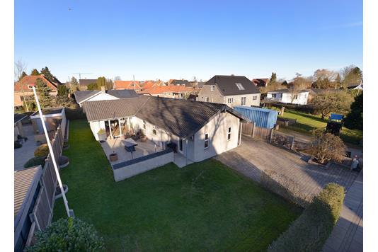 Villa på Nordøgade i Aarhus N - Facade