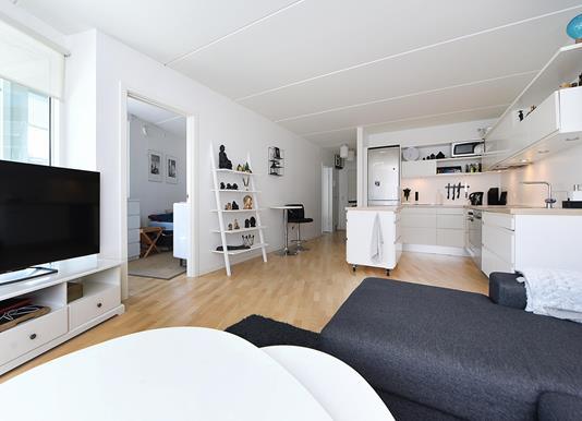 Ejerlejlighed på Telefontorvet i Aarhus C - Stue