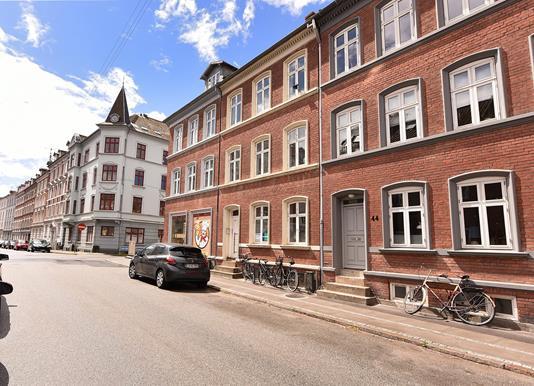 Ejerlejlighed på Bülowsgade i Aarhus C - Facade