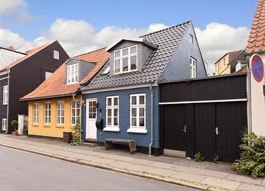 Villa på Valdemarsgade i Aarhus C - Ejendommen