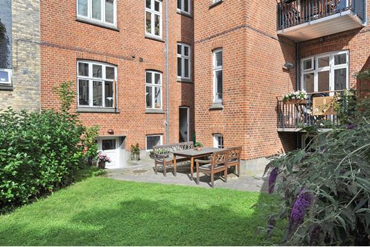 Ejerlejlighed på Bülowsgade i Aarhus C - Gårdhave