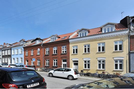 Ejerlejlighed på Lollandsgade i Aarhus C - Ejendommen