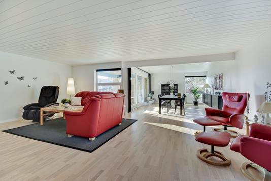 Villa på Søndermosevej i Padborg - Stue