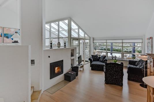Villa på Solvang i Kruså - Stue