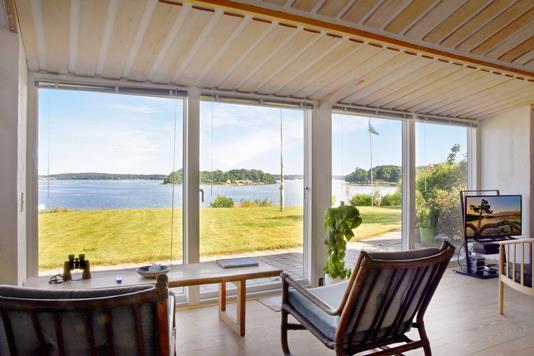 Villa på Fjordvejen i Kruså - Udsigt