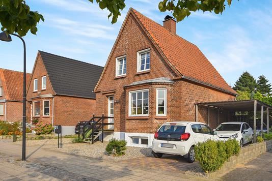 Villa på Nørregade i Padborg - Ejendommen