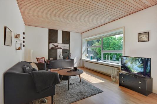 Villa på Buskhøjvej i Padborg - Stue
