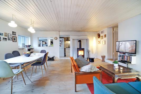 Villa på Hf. Engvang i København S - Stue