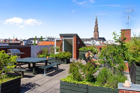 Ejerlejlighed på Sofiegade i København K - Terrasse