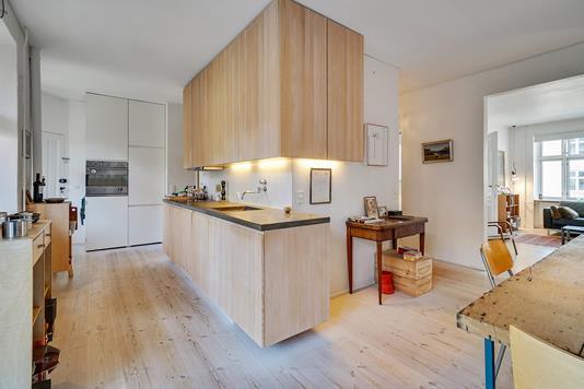 Ejerlejlighed på Jakob Dannefærds Vej i Frederiksberg C - Køkken