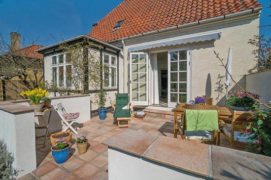 Villa på Ove Billes Vej i København S - Terrasse